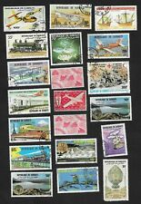 Djibouti small accumulation mint & used – no recent (26 stamps)