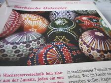Das war die DDR Alltag Einkaufen Sorbische Ostereier