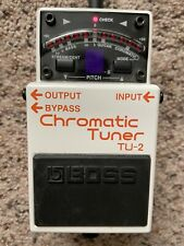 Boss Chromatic Tuner TU-2. Ac Adapter NOT Included.