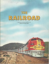 The Railroad Santa Fe System How Railroads Began 1958 History Book Vintage