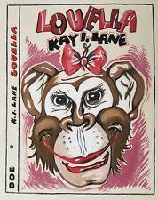 "Allen Shapiro ""A JAY Harry Chess"" Famed GAY EROTIC Cartoonist Monkey Book Design"