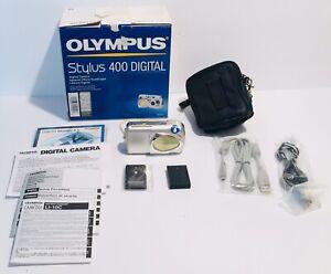 Olympus Stylus 400 4MP Digital Camera w/ 3x Optical Zoom