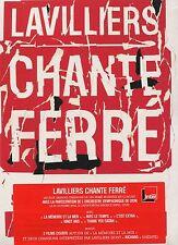 Bernard Lavilliers : Lavilliers chante Ferré (DVD)