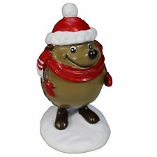 Topfin Aquarium Decor - Hedgehog With Santa Hat Christmas Decoration