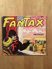 FANTAX 2ème Série numéro 8 - Septembre 1959 - BE