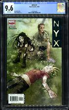NYX #7 (Marvel, 2003) CGC 9.6 NM+. 5th X-23. Clean case.