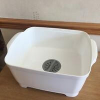 Dishwashing Bowl Straining Plug kitchen caravan wash & drain washing up bowl