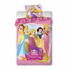 Princesse Disney simple housse de couette et taie d'oreiller Set - 100% coton