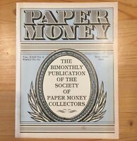 Society of PAPER MONEY Collectors Magazine May Jun 1984 E521