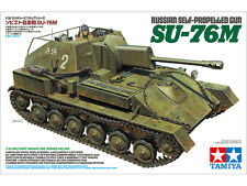 Tamiya 35348 New 1/35 Russian Self-Propelled Gun SU-76M Limited Ver. from Japan