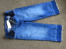 LADIES NEXT ANKLE WIDE LEG MATERNITY JEANS SIZE 10S BNWT