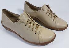 K Shoes crema in pelle con tacco piatto tg UK 4 EU 37 Super condizione