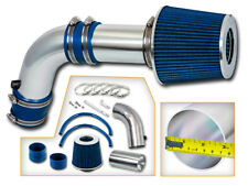 BCP BLUE For 04-07 Acura TSX Sedan 2.4L 4-Cyl Ram Air Intake Kit + Filter
