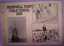 NSW SOUTH COAST - GREENWELL POINT PUBLIC SCHOOL 1988 Aust History s/c