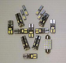 15x Mini Cooper White LED Lights Interior Package Kit R56