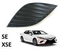 New Fits Camry SE XSE Bumper Fog Cover Front RH Passenger Toyota 2018 2019 2020