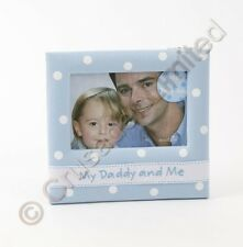My Daddy & Me Photo Frame (Blue) Fathers Day Gift 14067