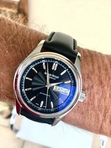 Neuwertige Armbanduhr der Marke Armand Nicolet, Modell HUNTER