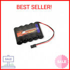 Tenergy NiMH Receiver RX Battery with Hitec Connectors 6V 2000mAh High Capac …