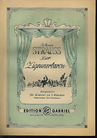 Johann Strauss : Der Zigeunerbaron - Potpourri von Heinrich Hanschmann