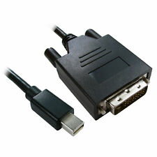 3m Mini DisplayPort Male Plug to DVI-D 24+1 Male Video Cable Black [008128]