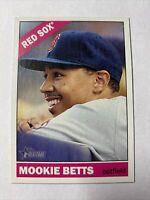 2015 Topps Heritage Baseball Mookie Betts Boston Red Sox Card #45