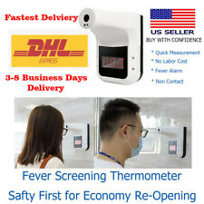 Wall-Mounted-infrared-Forehead-Thermometer-Industrial-Automatic-Thermometer-US