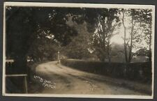 Postcard New Malden in Kingston Upon Thames London view of Lovers Lane 1910 RP