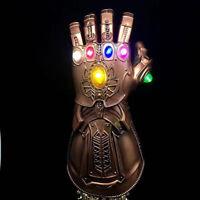 Avengers Infinity War  Gauntlet LED Light Thanos Gloves Cosplay Prop EndGame