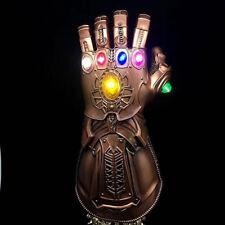 2020Figure & LED Light Thanos Infinity Gauntlet Marvel Legends Gloves Avengers