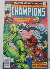 The Champions #9 Very Fine + Vf+ 8.5 Black Widow Ghost Rider Iceman Hercules