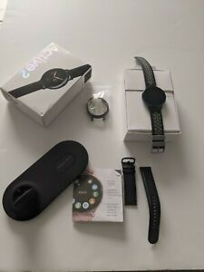 Samsung Galaxy Watch Active 2 44mm Stainless Steel Black Smart plus dual charger