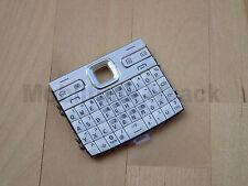 Original Nokia E72 Tastatur | Tastaturmatte | Keypad | Keymat Zircon White NEU