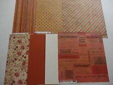 """Recess - Home School - Scrapbooking Paper Pack 12x12"""""""
