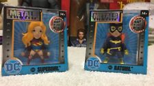 DC BatGirl And SuperGirl Metals Die Cast Figure Collectibles (Lot of 2)