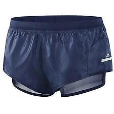 Adidas x Stella McCartney Womens Shorts Training Sports Leather Navy F51202