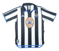 Newcastle United 1997-98 Authentic Home Shirt (Excellent) S Soccer Jersey