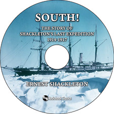 South: The Story of Shackleton's Last Expedition MP3CD Audiobook in paper sleeve