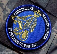 Royal Marshals Koninklijke Marechaussee KMar Bijstandseenheid Insignes Patch