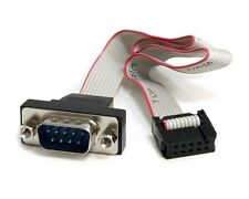 StarTechcom 40.6cm 9-polig Serie Stecker zu 10-polig Motherboard Header