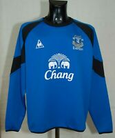 EVERTON FOOTBALL SWEATSHIRT Le coq sportif SIZE XL EXCL
