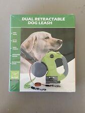 New Nunbell Dual Retractable Dog Leash, Small