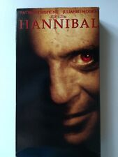 Hannibal VHS Anthony Hopkins Julianne Moore Gary Oldman Ray Liotta Frankie Faiso