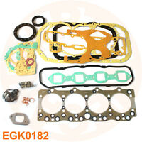 ISUZU 4BE1 ENGINE GASKET KIT FOR NKR NPR ELF35 TURCK HITACHI SUMITOMO EXCAVATOR