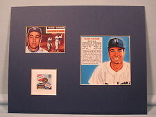 Brooklyn Dodger great Duke Snider & stamp issued to honor the Subway Series