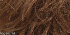Medium Long Natural Looking Skin Top Wavy Straight Blonde Brunette Red Wigs