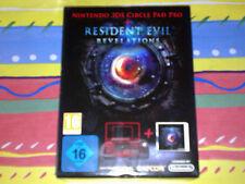 RESIDENT EVIL REVELATIONS (3DS)+CIRCLE PAD PRO, PAL ESPAÑA ¡¡NUEVO Y PRECINTADO!