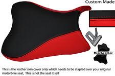 RED & BLACK CUSTOM FITS SUZUKI 600 750 GSXR 08-10 K8 K9 L0 FRONT LTHR SEAT COVER