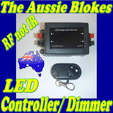 REMOTE LED STRIP LIGHT DIMMER with on/off switch Caravan Camper Kitchen Boat