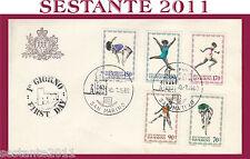 SAN MARINO FDC OLIPMIADE OLIMPIADI 1980  (380)